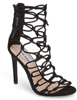 Steve Madden Women's Mayfair Latticework Tall Sandal