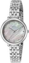 Fossil Women's Quartz Stainless Steel Automatic Watch, Color:Silver-Toned (Model: ES4029)