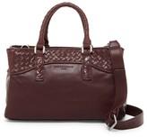 Liebeskind Berlin Georgia Woven Leather Shoulder Bag