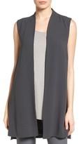 Eileen Fisher Women's Long Silk Vest