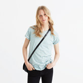 Madewell Whisper Cotton Crewneck Tee in Fenwick Stripe