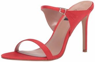 ZAC Zac Posen Women's Double Strap high Heel Sandal with Buckle Closure Pump
