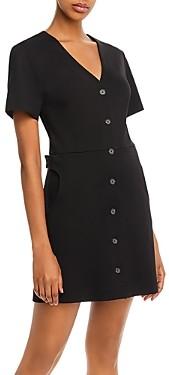 Joie Derion B Button Mini Dress