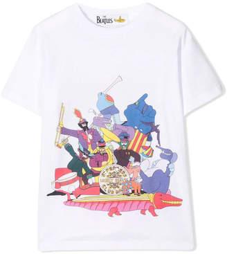 Stella McCartney kids yellow submarine t-shirt