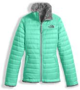 The North Face Girls' Reversible Mossbud Swirl Jacket, Size XXS-XL