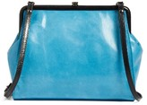 Hobo Mindi Frame Crossbody Bag - Blue