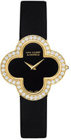 Van Cleef & Arpels Alhambra Sertie Yellow Gold Watch, Medium