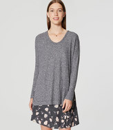 LOFT Ribbed Tunic Sweater