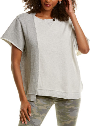 Hudson Asymmetrical Colorblock Pullover