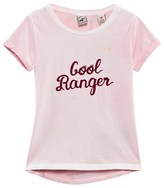 Scotch R'Belle Pink Cool Ranger Flocked Tee