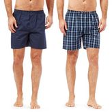Maine New England Pack Of Two Navy Pyjama Shorts