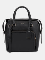 DKNY CHELSEA VINTAGE LEATHER NORTH\u002FSOUTH SATCHEL