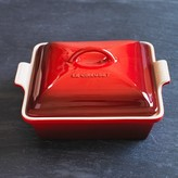 Le Creuset Heritage Stoneware Shallow Square Covered Baker