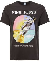 Amplified Washed Grey Pink Floyd T-Shirt*