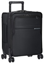 Briggs & Riley Men's 'Baseline - Commuter' Expandable Rolling Carry-On - Black