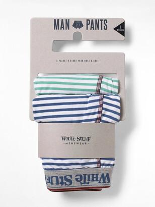 White Stuff Multi Stripe Double Boxer Pack