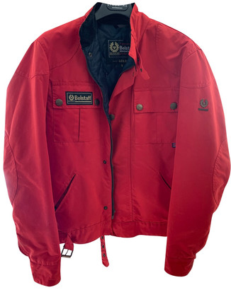 Belstaff Red Cotton Leather jackets