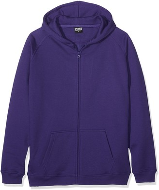 Urban Kids Boys' Kids Zip Hoody Hooded Sweatshirt