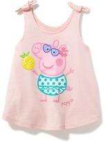 Old Navy Nick Jr. Peppa Pig Bow-Tie Tank for Toddler Girls