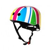 Kiddimoto Rainbow Union Jack helmet