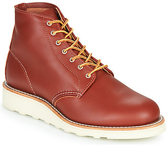 Red Wing Shoes 6 INCH ROUND women's Mid Boots in Brown