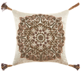 Nourison Mina Victory Wire Embroidery Circle Throw Pillow