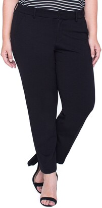 Liverpool Kelsey Ponte Knit Trousers