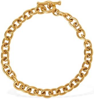 Saint Laurent Marina Chain Short Necklace