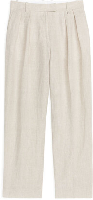 Arket Fluid Linen Trousers