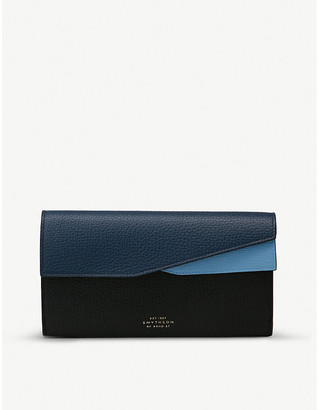 Smythson Ludlow leather organiser wallet