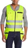 JOBMAN Workwear Men's High Visibility Tradesman Vest