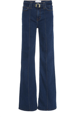 Current/Elliott Admirer High-Rise Flare Jeans