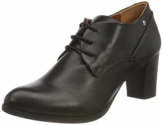 PIKOLINOS Leather Ankle Boots VIENA W8Z Black