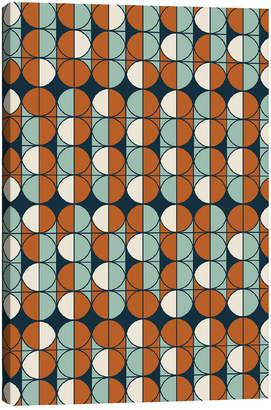 iCanvas icanvasart Retro Pattern By Flatowl