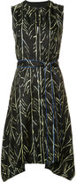 Proenza Schouler branch print dress