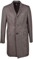 Caruso Herringbone Coat