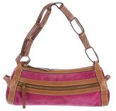 Kate Spade Leather-Trimmed Suede Bag
