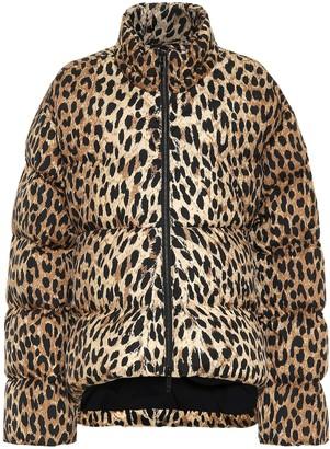 Balenciaga Leopard-print puffer jacket