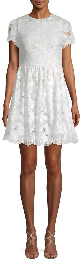 Alice + Olivia Women's Karen Lace Party Dress
