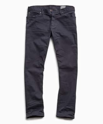 Todd Snyder Slim Fit 5-Pocket Garment-Dyed Stretch Twill in Nightwatch