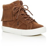 Ralph Lauren Girls' Winona Fringe High Top Sneakers - Toddler