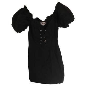 I.AM.GIA Black Cotton Dresses