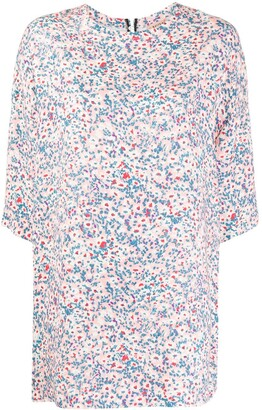 No.21 Floral Print Tunic