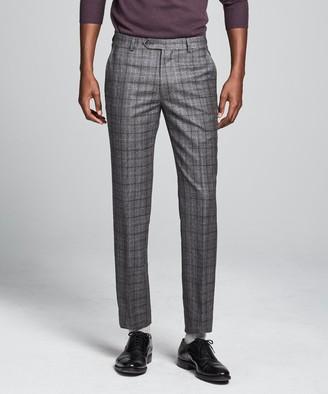 Todd Snyder Wool Glen Plaid Sutton Suit Trouser In Grey