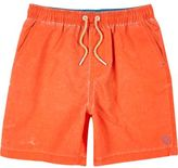 River Island Boys bright orange swim trunks