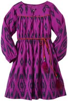 Cupcakes & Pastries Vintage Frock (Toddler/Kid) - Purple Ikat-10