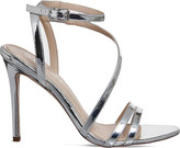 Office Nadine mirrored faux-patent sandals