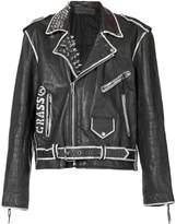 Enfants Riches Deprimes Subhumans biker jacket