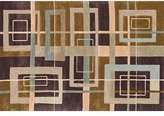 """Loloi Rugs Mocha Loloi Abacus 7'10""""x7'10"""" Contemporary Round Area Rug from RugPal.com"""