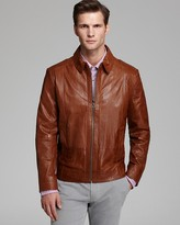 HUGO BOSS Garrin Leather Jacket